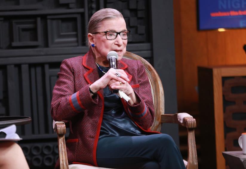 Il giudice Ruth Bader Ginsburg