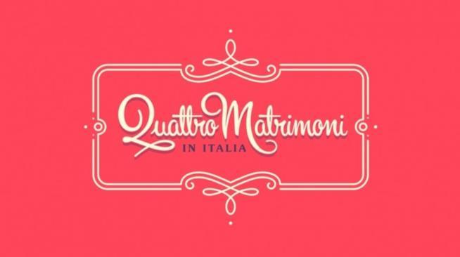Il logo del programma Quattro Matrimoni in Italia