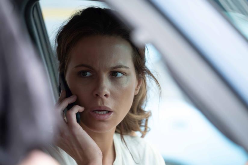 Una scena di The Widow con Kate Beckinsale