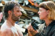 Rick e Jadis in una scena di The Walking Dead