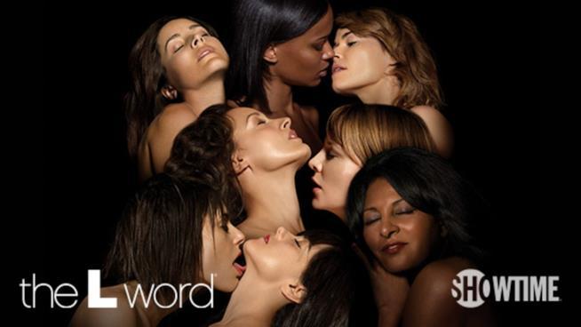 Il cast di The L Word in un poster promozionale sensuale