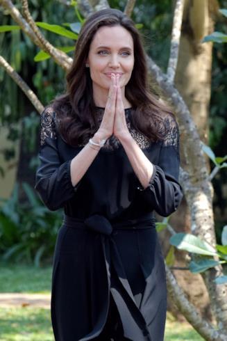 L'attrice e regista Angelina Jolie