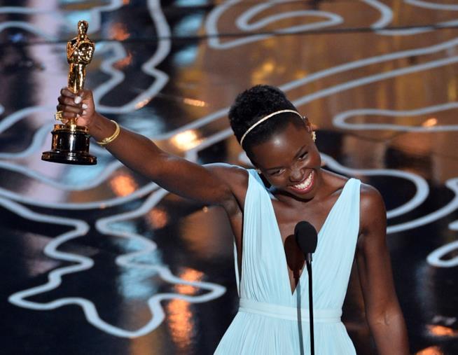 Lupita Nyong'o agli Oscar