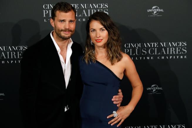 Jamie Dornan e la moglie Amelia