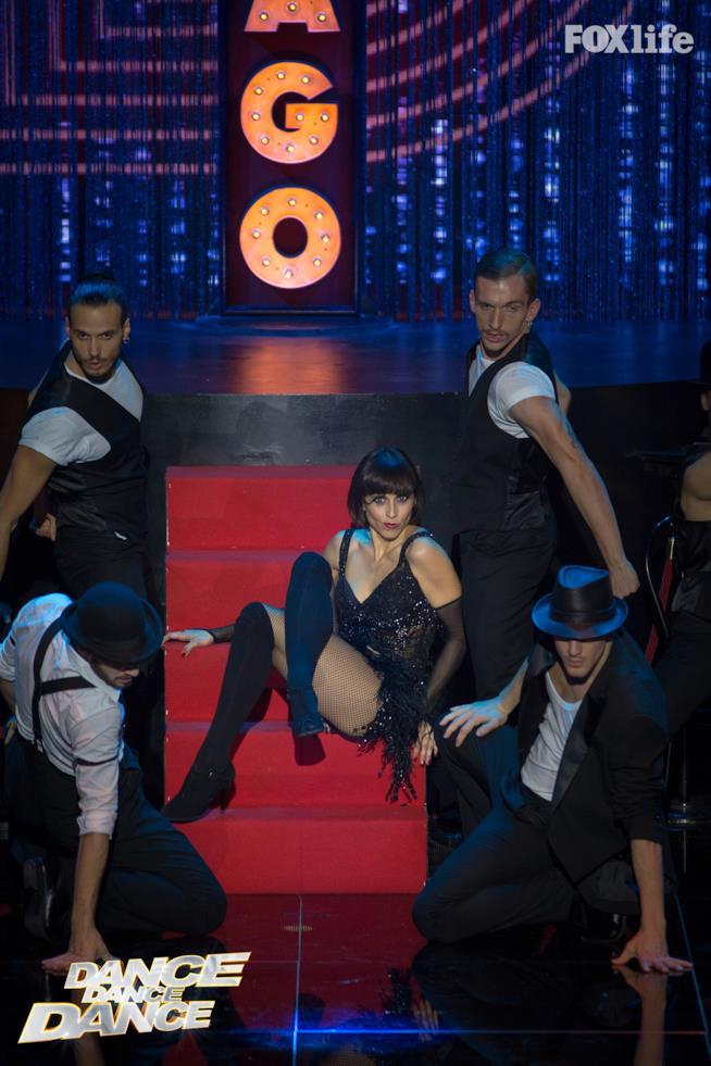 Susy Laude, esibizione del quarto serale di Dance Dance Dance 2