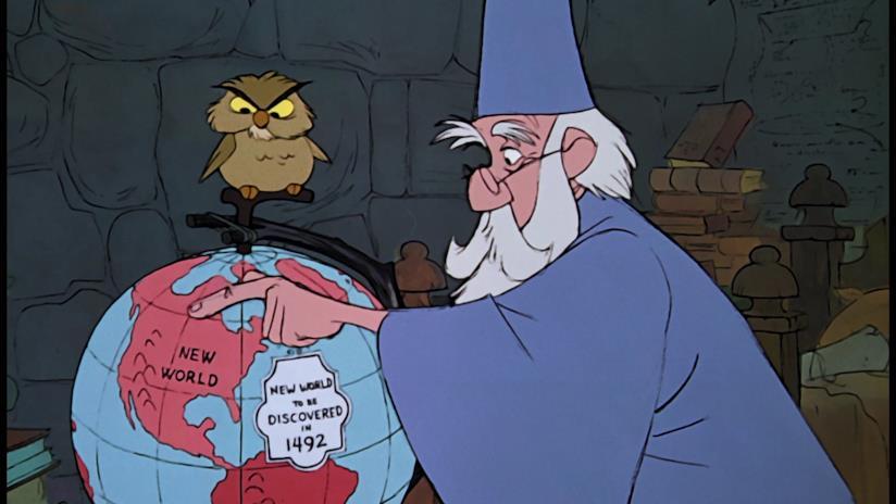 Mago Merlino e Anacleto