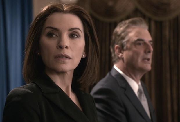 Alicia e Peter nel finale di The Good Wife