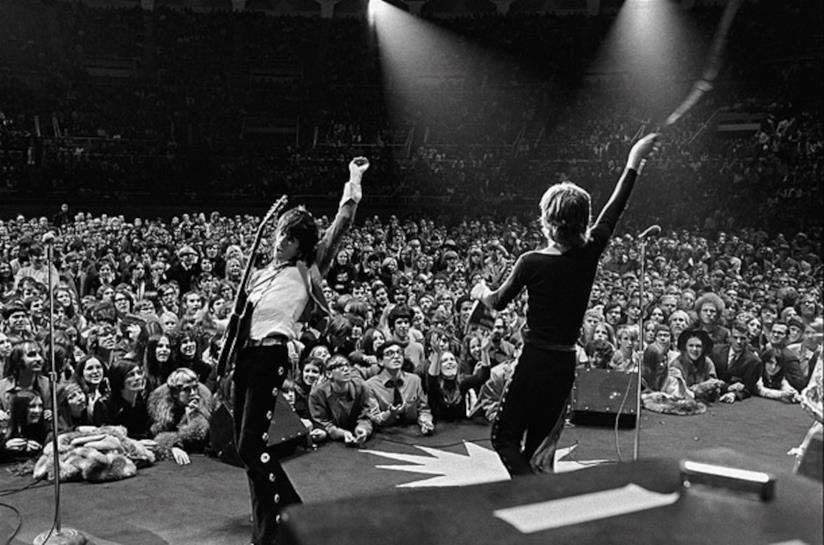 I Rolling Stones in concerto