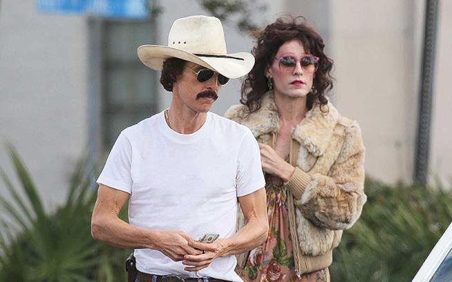 McConaughey cowboy sieropositivo e Leto transessuale in una immagine da Dallas Buyers Club