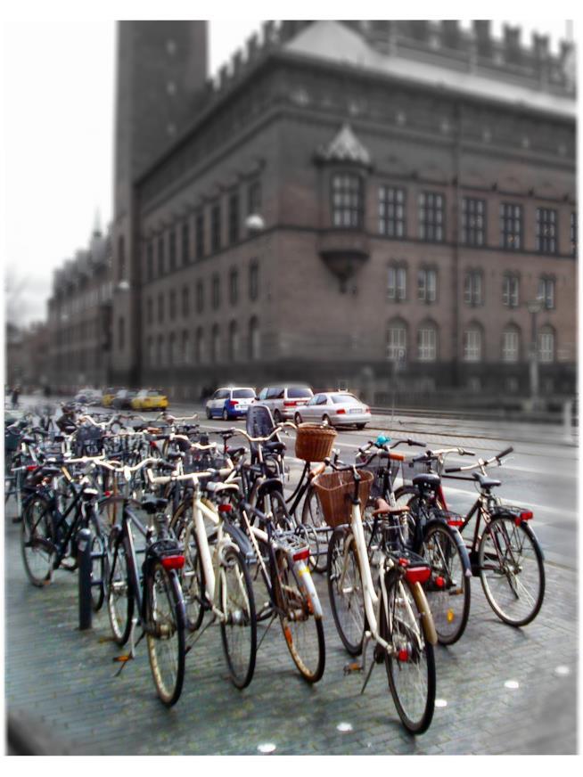 La città delle biciclette: Copenaghen