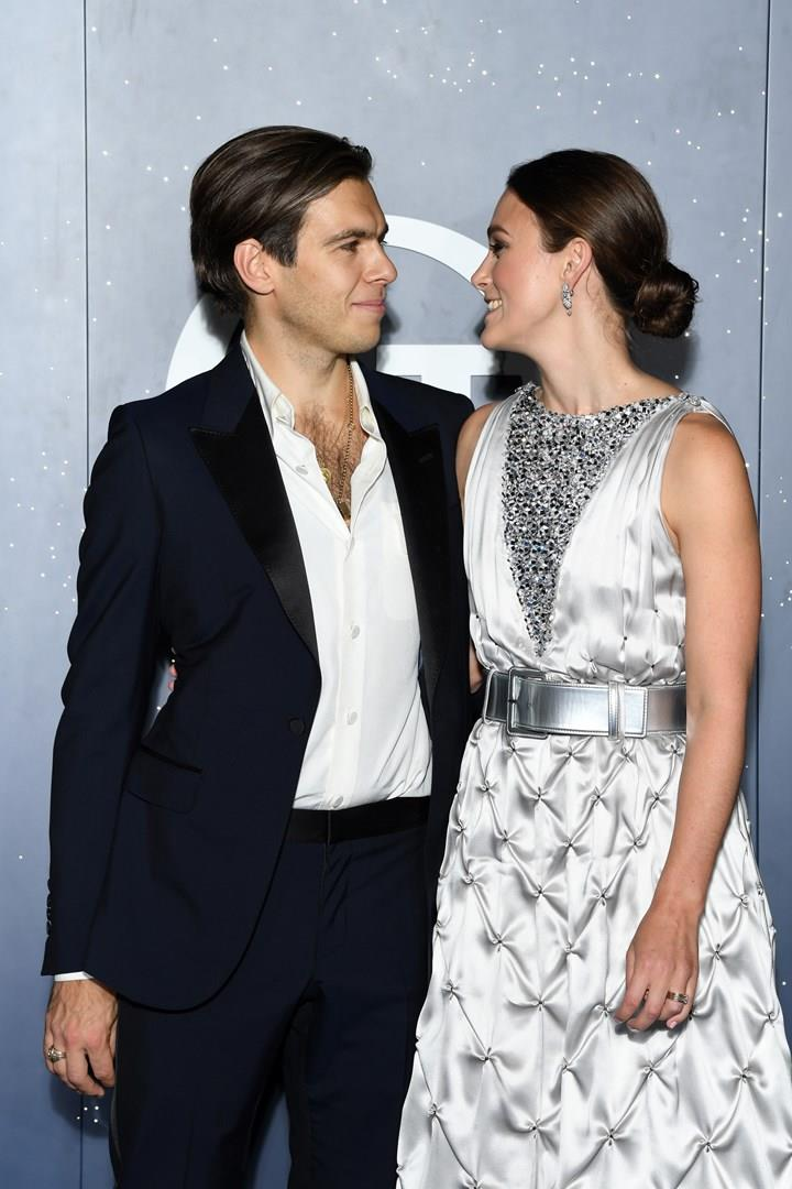 Keira Knightley col marito James Righton