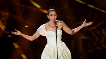 L'esibizione di Nina Zilli a Sanremo 2018