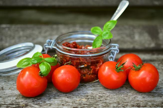 Barattolino e pomodorini