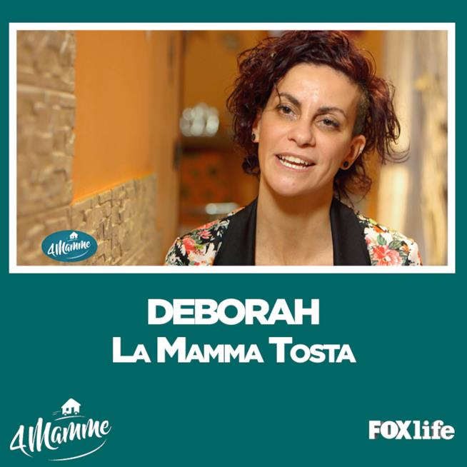 Deborah la mamma tosta di 4 mamme puntata 2 a Milano