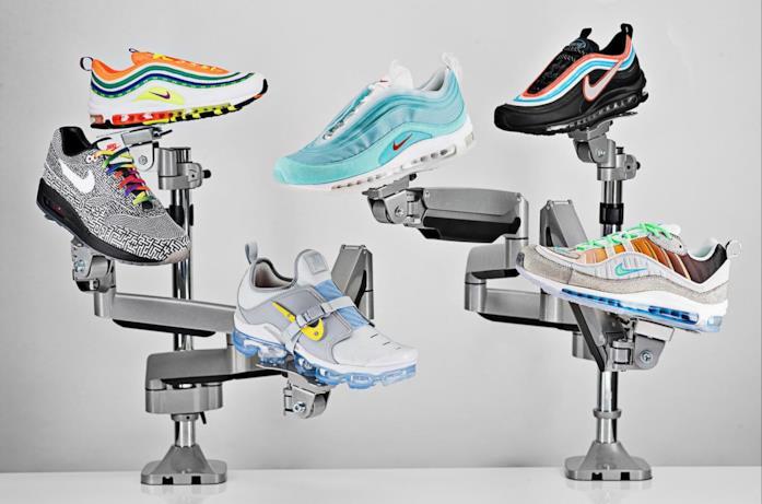 Sei sneakers create per il concorso On Air indetto da Nike