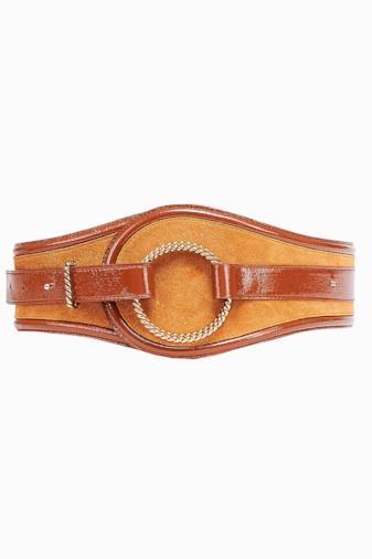 Cintura maxi con anello