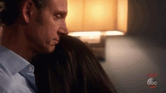 Olivia e Fitz in una scena di Scandal 7