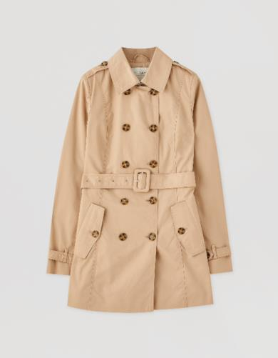 Trench color cammello
