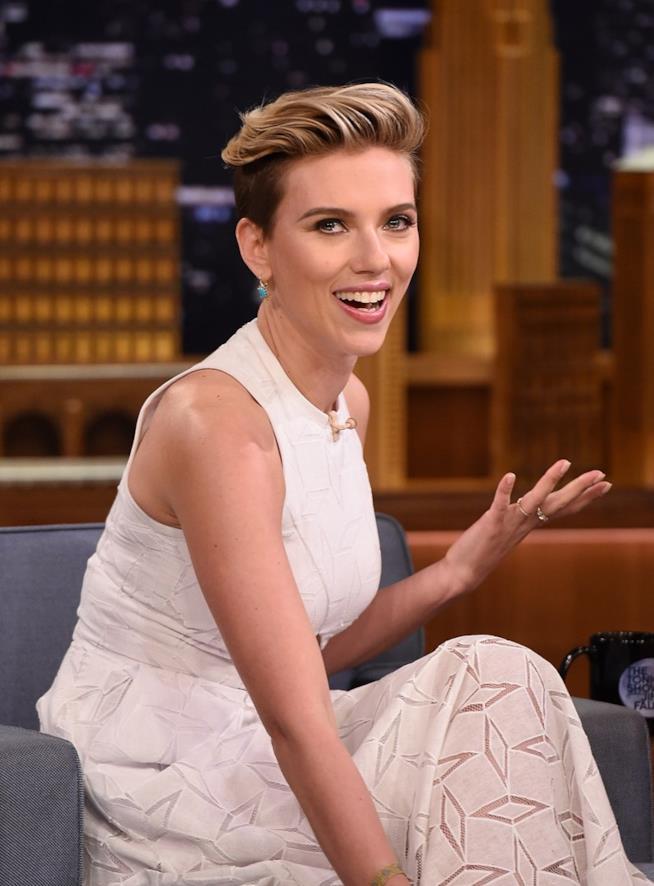 Scarlett Johansson nel 2017