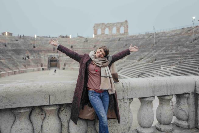 Alessandra direttamente dall'Arena di Verona