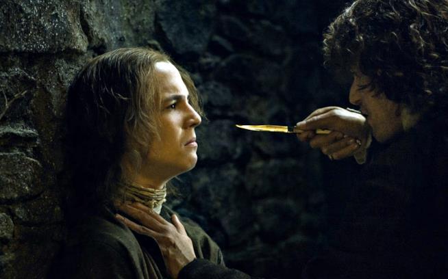Jamie punta un coltello in faccia al ragazzino
