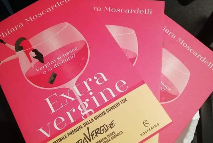 Extravergine, il libro che anticipa la serie, firmato da Chiara Moscardelli