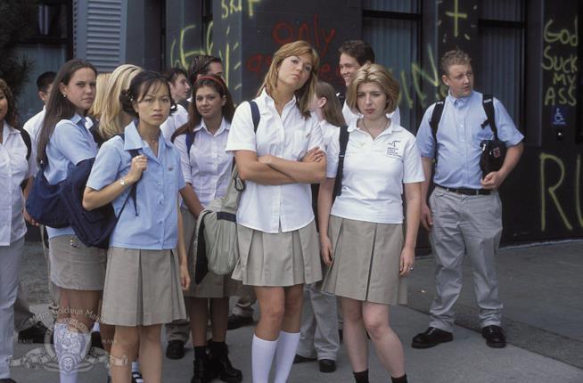 Mandy Moore e le altre studentesse in Saved!