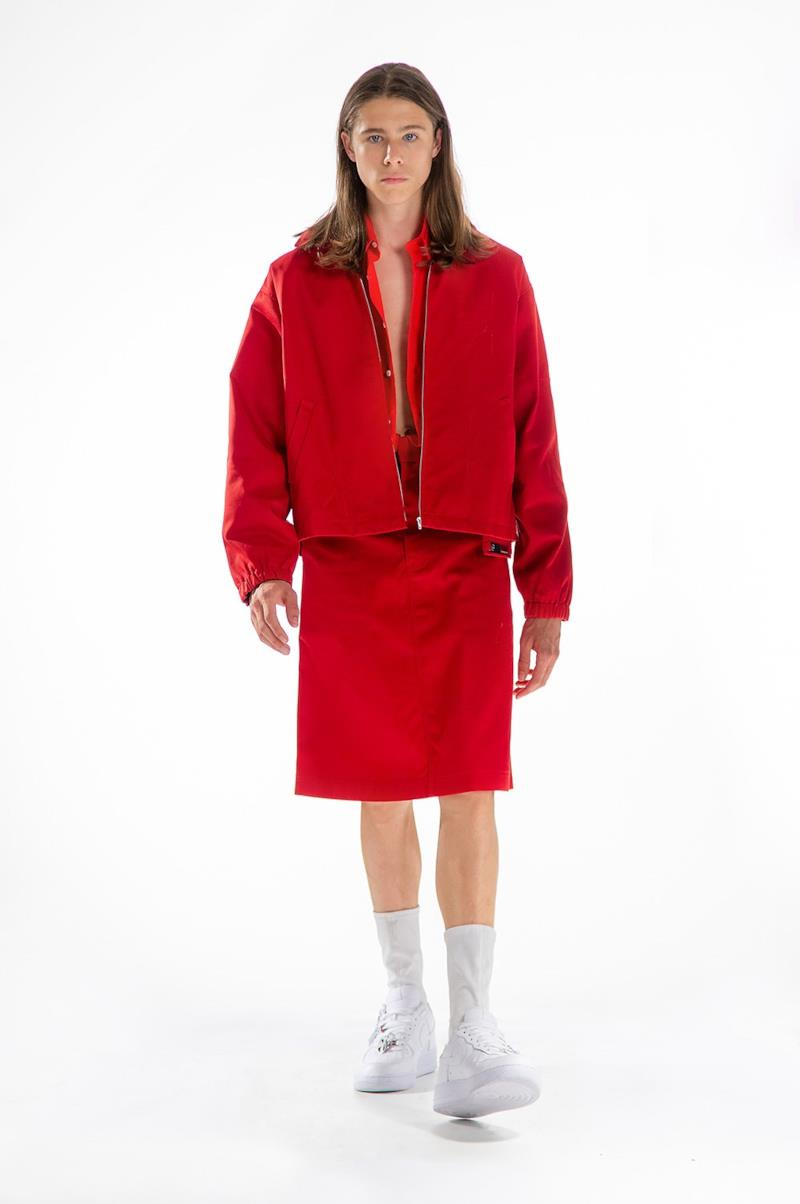 Sfilata XANDER ZHOU Collezione Uomo Primavera Estate 2020 Londra - XANDER ZHOU ss2020 look 51