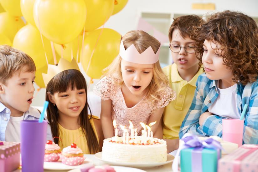 Una festa di compleanno per bambini