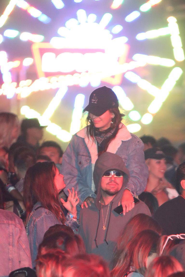 Leonardo DiCaprio e Camila Morrone al Coachella