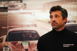 Patrick Dempsey a un evento per Porsche