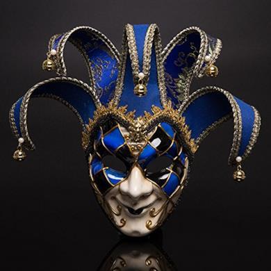maschera del teatro di carnevale di Venezia