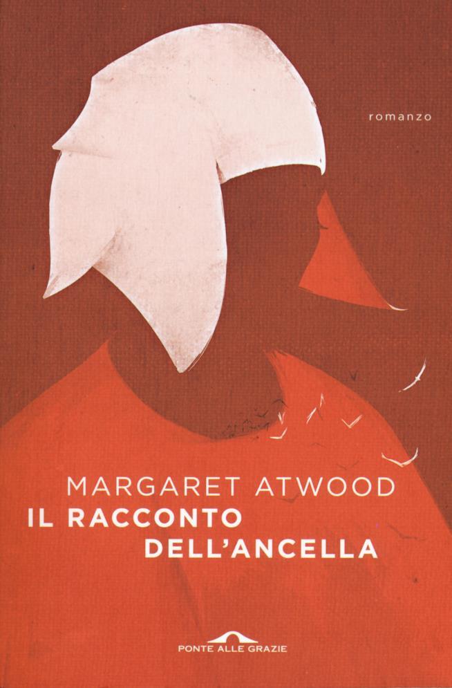 La copertina italiana di Il racconto dell'ancella