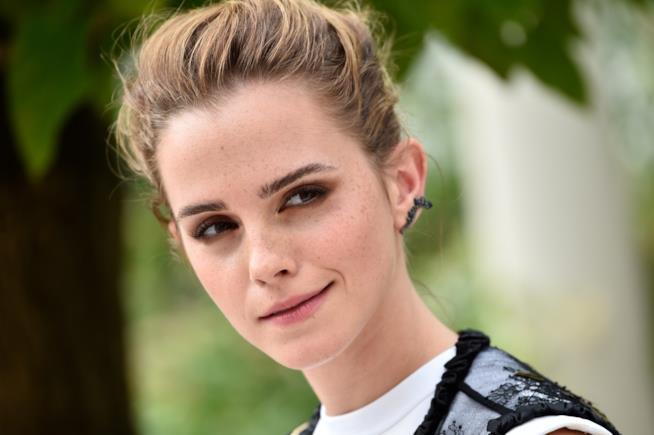 L'attrice Emma Watson