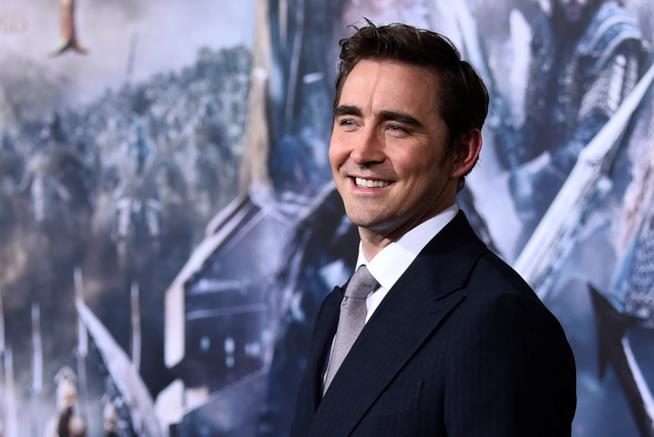 Lee Pace alla premiere di Lo Hobbit - La battaglia delle Cinque Armate