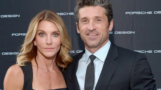 Patrick Dempsey e la moglie Jillian