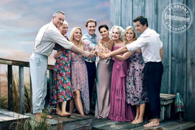 La reunion del cast di Dawson's Creek