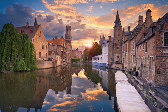 Scorcio di Brugesin Belgio