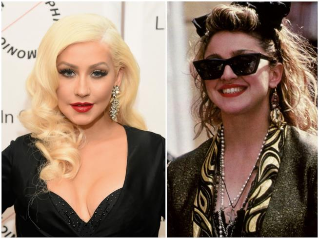 Christina Aguilera e Madonna