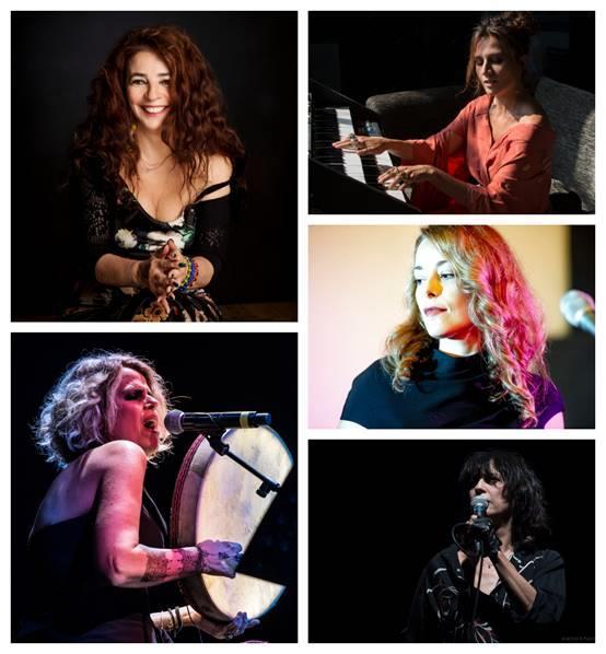 Cantautrici sul palco