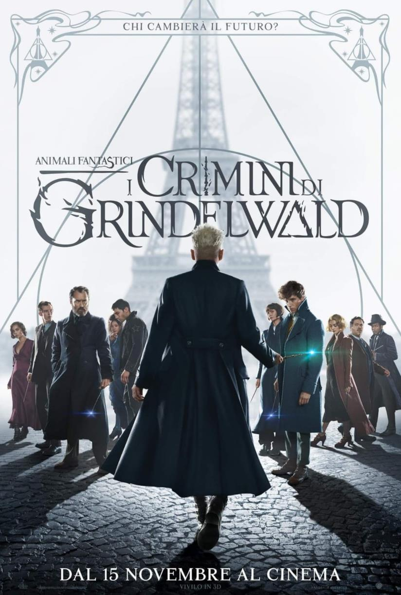 La locandina di Animali Fantastici: I Crimini di Grindelwald