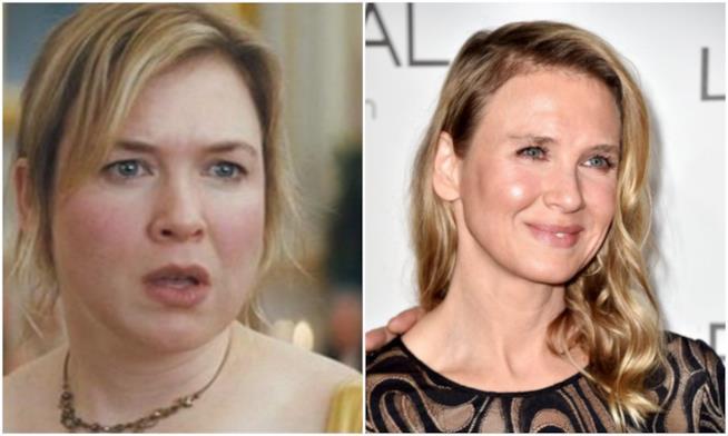 Renée Zellweger prima e dopo il ritocco estetico