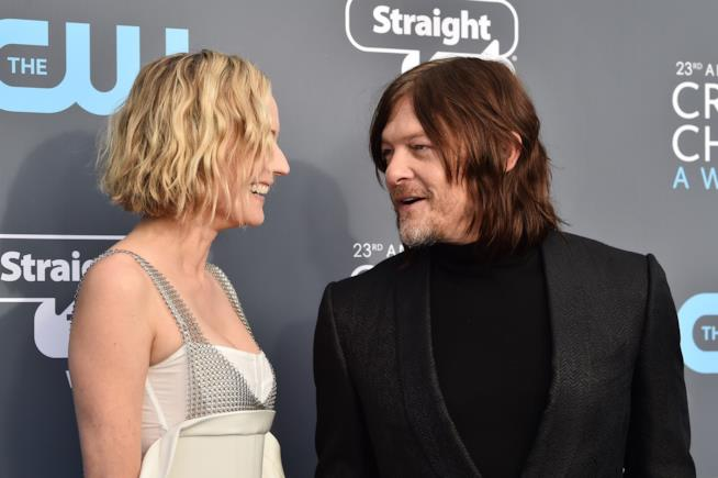 Diane Kruger e Norman Reedus sul red carpet
