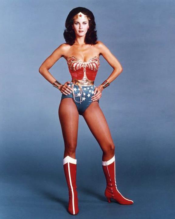 Lynda Carter nelle vesti di Wonder Woman