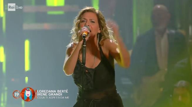 Irene Grandi a Sanremo