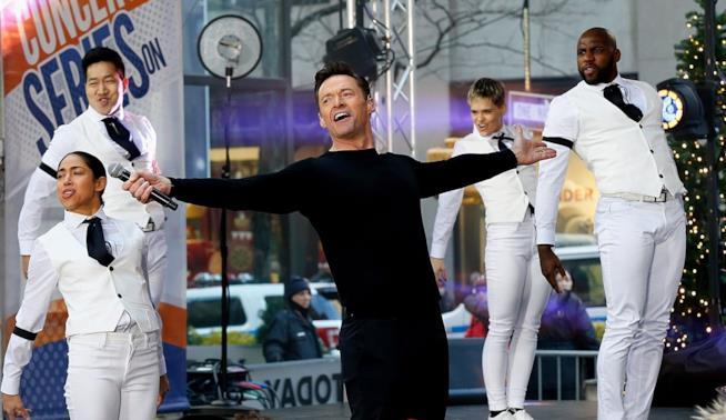 Hugh Jackman dal vivo al Today Show