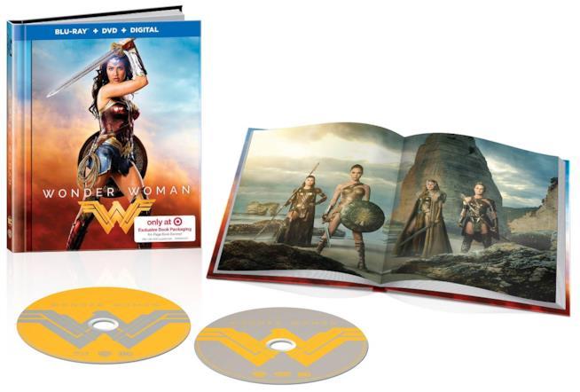 Il digibook di Wonder Woman