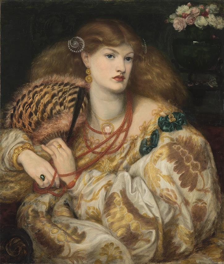 Dante Gabriel Rossetti (1828-1882) Monna Vanna