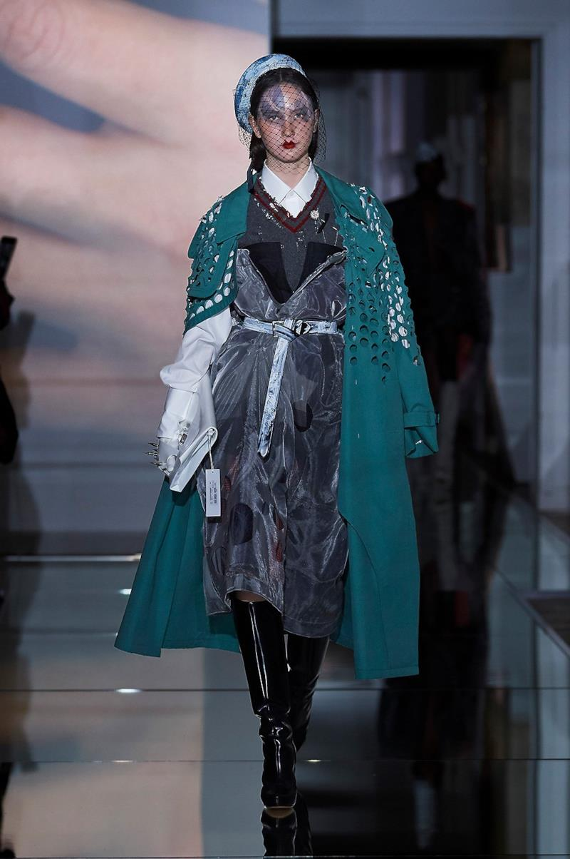 Sfilata MAISON MARGIELA Collezione Alta moda Autunno Inverno 19/20 Parigi - Margiela PO HC RF19 0029