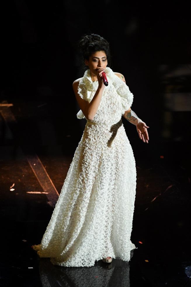 Alice Caioli a Sanremo 2018